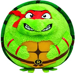 Ty Beanie Ballz Raphael Mask, Medium/Red