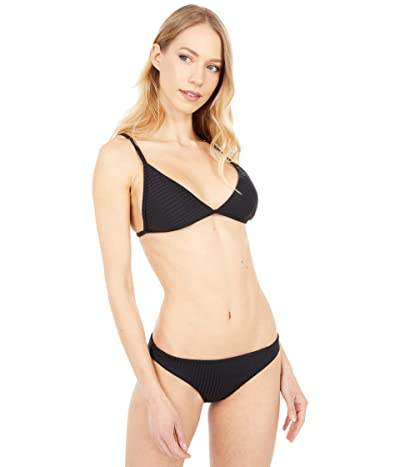 Rip Curl Premium Surf Banded Fixed Top (Black) Women