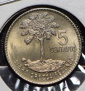 1965 GT Guatemala 1965 5 Centavos Quetzal animal 191154 DE PO-01