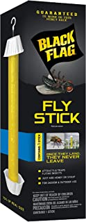 Black Flag HG-11015 Stick, Trap, Houseflies and Flying Insects, 1-Count, 6-Pack, Case Pack of 6