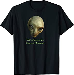 Funny Alien T-Shirt