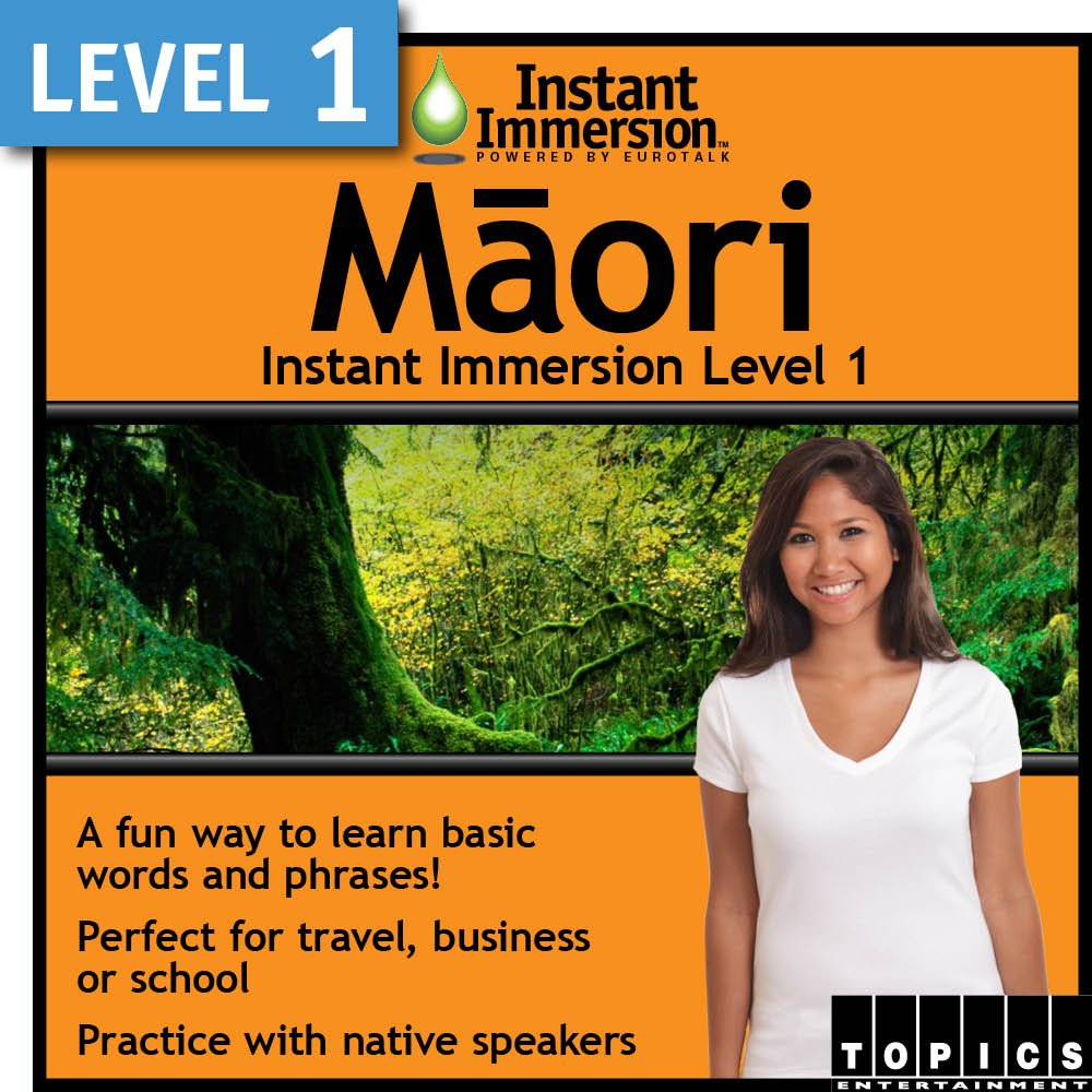 Instant Immersion Level 1 - Maori Download All Spring new work one after another items in the store