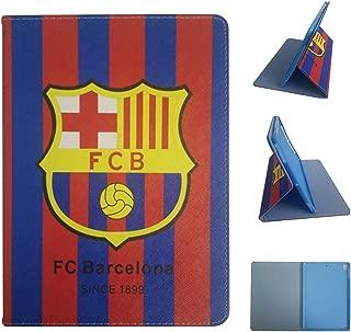 ipad Pro 11 2018 Version Case,Football Team Club PU Leather Flip Case for ipad Pro 11 inch (FC Barcelona)