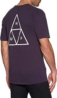 HUF Mens Essentials Tt S/S Tee Short Sleeve T-Shirt
