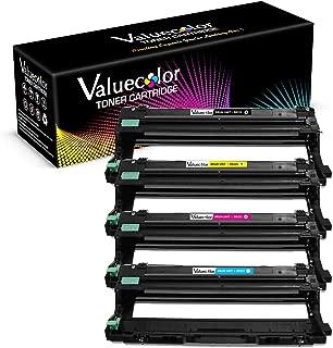 ValueColor Compatible DR221CL Drum Unit Sets Replacement for Brother DR221 DR-221CL DR221CL Drum Sets Unit Fits for HL-3140CW HL-3170CDW HL-3180CDW MFC-9130CW MFC-9330CDW MFC-9340CDW Printers