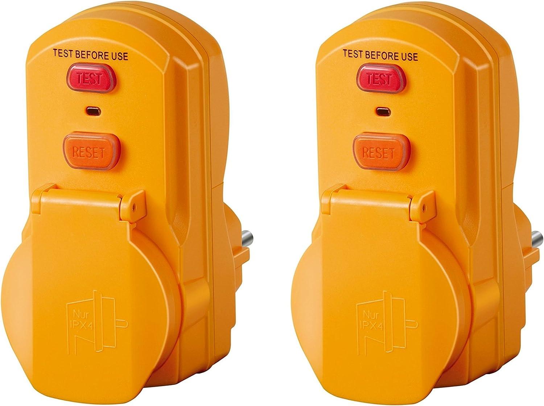 Brennenstuhl 1290660 Netzteil Schutz 2 Personen Bdi 30 Elektronik