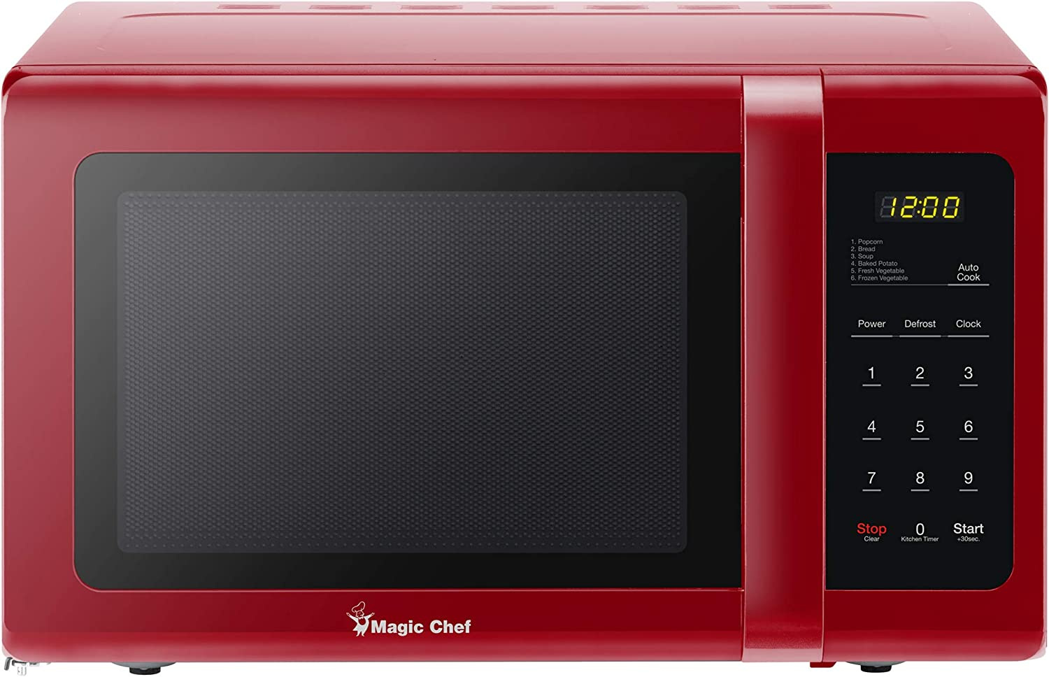 Magic Chef MCD993R Microwave for Small Kitchen