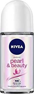 NIVEA Deodorant Roll On, Pearl & Beauty For Women 50ml