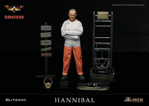 venta caliente en línea Blitzway Figura Hannibal Hannibal Hannibal Lecter Straitjacket Ver. 30 cm. El Silencio de los corderos. Escala 1 6  venta directa de fábrica