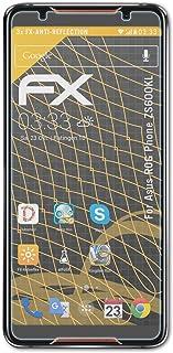 atFoliX Skärmskydd är kompatibel med Asus ROG Phone ZS600KL Skyddsfilm, antireflekterande och stötdämpande FX Film (3X)