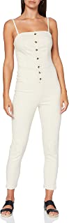 Superdry Button Through Jumpsuit Tuta Intera Donna
