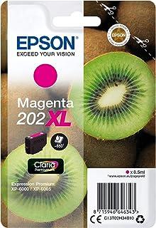 Epson Original 202XL Tinte Kiwi (XP 6000 XP 6005 XP 6100 XP 6105, Amazon Dash Replenishment fähig) magenta