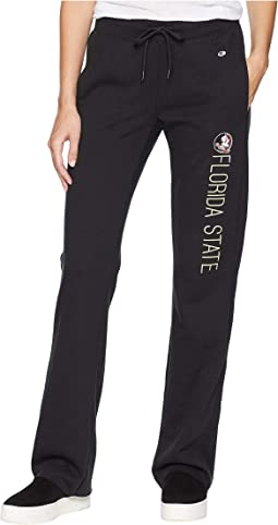 Florida State Seminoles University Fleece Open Bottom Pants