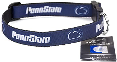 All Star Dogs Penn State Nittany Lions Ribbon Dog Collar - Large