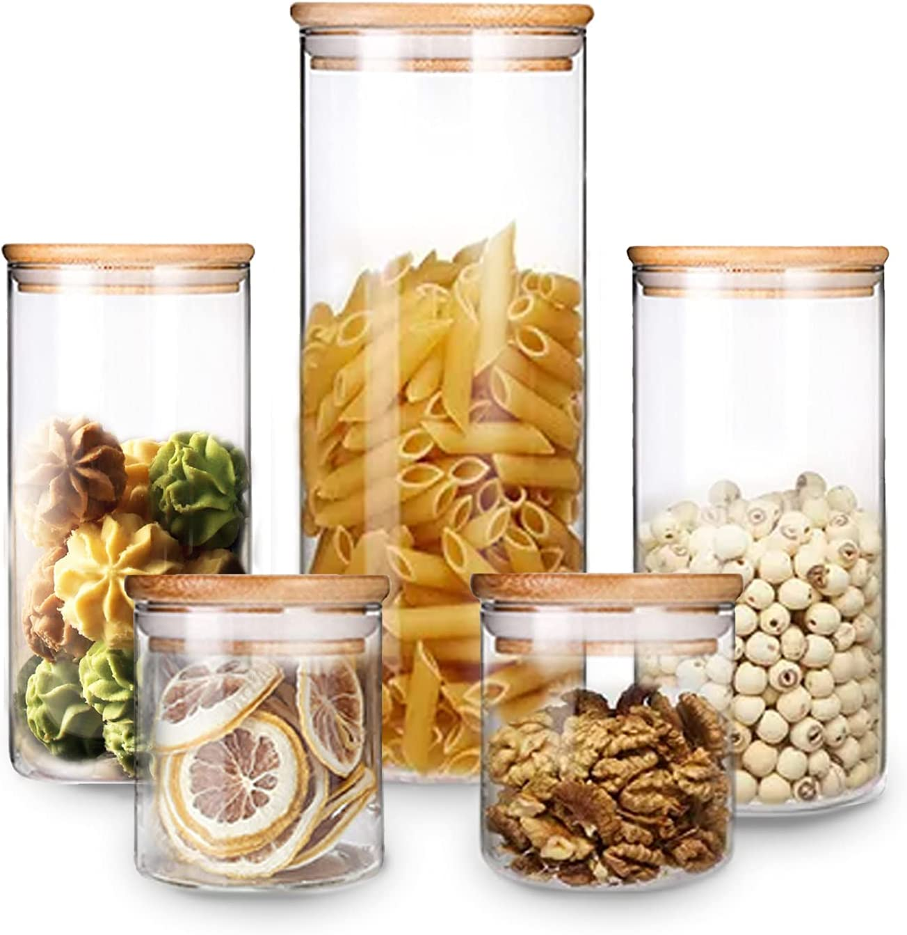 VIVILINEN Glass Our shop OFFers the best service Storage Jar Food Canisters National products Containers wi