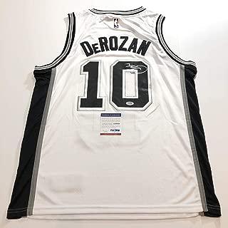 DeMar DeRozan Signed Jersey - PSA/DNA Certified - Autographed NBA Jerseys