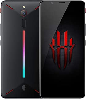 ZTE Nubia Red Magic for games, 8gb RAM, 128gb storage, RGB light panel (on the back), scratch/shock resistant screen, 24 megapixel back camera
