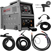 Amico MIG-140GS, Multi-function 140-Amp MIG/MAG/Flux-cored/Lift-TIG/Stick Arc DC Inverter Welder, Can weld all metals, Spo...