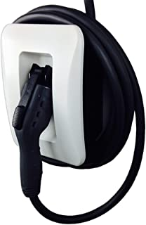 EVoCharge J1772 Holder (Holster) Dock for EV Charger Plug & Cord (Cable), Wall Mount (Note: Holder Only, EV Cable and Plug in Image are Sold Separately)