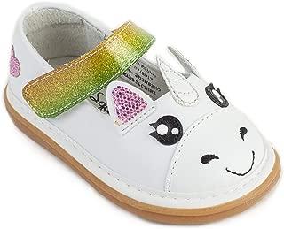 Unicorn Toddler Squeaky Shoe