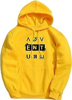 BAGHADBILLO Adventure Printed Unisex Cotton Hoodies Sweatshirt for Men and Women