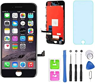 """for iPhone 7 Screen Replacement Black 4.7"""" LCD Display Touch Screen Digitizer Assembly Kit with Free Repair Tools (iPhone ..."""
