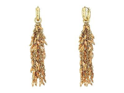 SOLE / SOCIETY Waterfall Earrings (12K Soft Polish Gold/Himalayan Salt) Earring