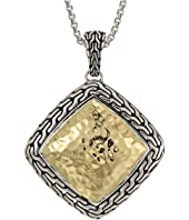 John Hardy - Classic Chain Hammered Pendant
