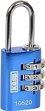 Kasp K10520BLUD 105-serie Aluminium Combinatie Hangslot - Blauw
