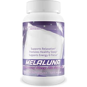 Melaluna Sleep Aid - Supports Relaxation - Promotes Healthy Sleep - Supports Energy and Focus - Mela-Luna is formulated with a Proprietary Sleep Blend to give You The Best Mela Luna Sleep Ever