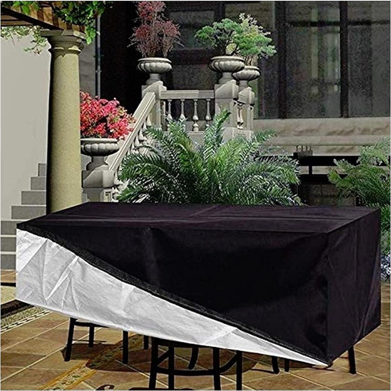 KUAIE Rattan Furniture Super intense SALE Cover O 420D Max 90% OFF Rectangular Waterproof