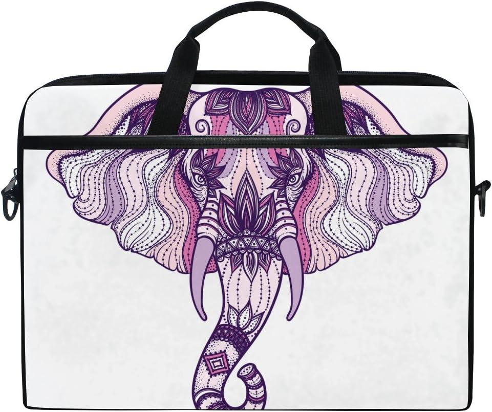JSTEL Elephant Max 67% 25% OFF OFF Mandala Laptop Shoulder Sleeve Bag Case Messenger