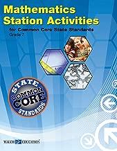 Station Activities for Common Core Mathematics, Grade 7