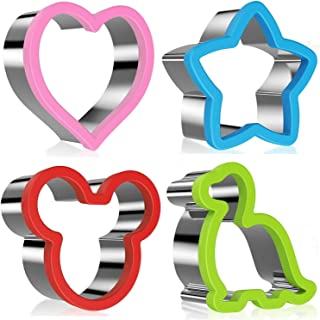 Stainless Steel Sandwiches Cutter, Mickey Mouse & Dinosaur & Heart & Star..