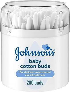 Johnson & Johnsons Baby Cotton Bud, 200 Count, White