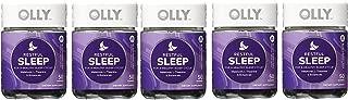 OLLY Restful Sleep Gummy Supplements, Blackberry Zen,5Pack ( 100 Count Each ) Ujkngc