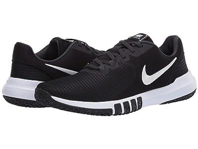 Nike Flex Control 4 (Black/White/Dark Smoke Grey/Smoke Grey) Men