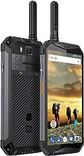 "Ulefone Armor 3T Rugged Cell Phones Unlocked, Walkie Talkie IP68 Waterproof Smartphone, 10300mAh Big Battery, 5.7"" FHD+, 4GB+64GB, Android 8.1 Dual 4G Global Version Compass, GPS+Glonass, NFC (Gray)"