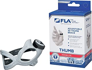 FLA 3D Adjustable Left Thumb Brace, Small by FLA