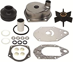 GLM Water Pump Kit for Mercury 3 Cylinder 40 50 55 60 hp 2 Stroke Replaces MERC 46-812966A11
