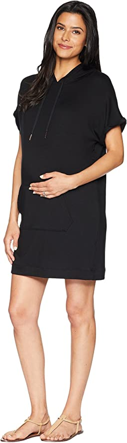 Maternity It's All Hoodie Dress