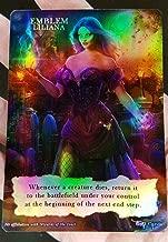 GnD Cards 1x Liliana Defiant Necromancer Emblem #3 FOIL Laminated Custom Altered MTG Magic Origins