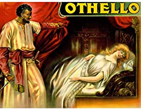 Wee Blue Coo Theatre Stage Play Othello Shakespeare Desdemona Tragedy Unframed Wall Art Print Poster Home Decor Premium