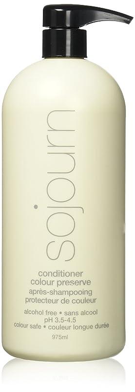 sojourn 滞在色(975ミリリットル/ 33オンス)、より豊かな、活気に満ちた、長持ち色と輝きのために最大UV/熱保護とコンディショナーを保存グルテン/硫酸/アルコールフリー 975ミリリットル/ 33液量オンス