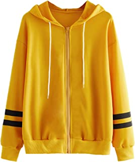 Milumia Women Colorblock Thin Cotton Jacket with Pockets Casual Zip up Hoodies
