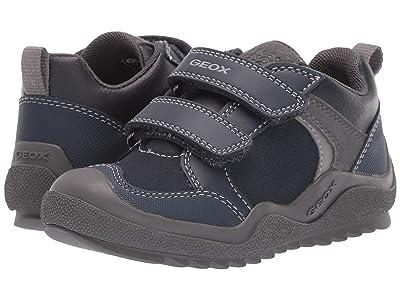 Geox Kids Jr Artach 2 (Little Kid) (Navy/Grey) Boys Shoes
