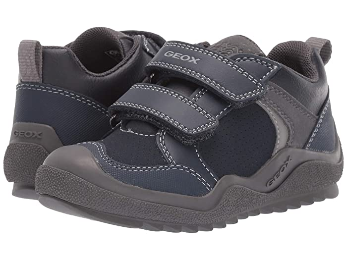 EAN 8054730220353 product image for Geox Kids Jr Artach 2 (Little Kid) (Navy/Grey) Boys Shoes | upcitemdb.com