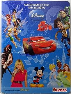 Disney - Auchan - Cartamundi - Collectionne et joue avec les héros Disney - classeur complet de ses 185 cartes collector