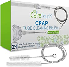 Care Touch CPAP Tube Cleaning Brush - Flexible Stainless (7 Feet) Plus Handy Brush (7 Inches) fits Standard 22mm Diameter Tubing