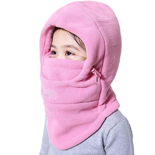 e59e3917abb VSREI Bonnet Enfant Chapeau Ski Écharpe d hiver Doublure Cotton Doux